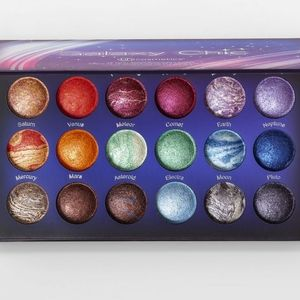 Bh cosmetics galaxy chick 18 color eye pallet